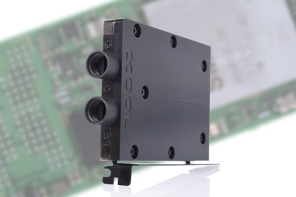 Alphacool Eisblock HDX-3 PCI-e 3.0 x4 adaptor for M.2 NGFF with water cooling block - black