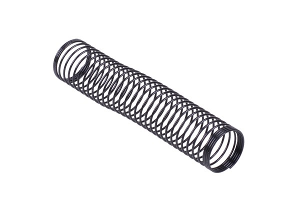 Anti-kinking spring individual 19.1mm (100mm length) - matte black