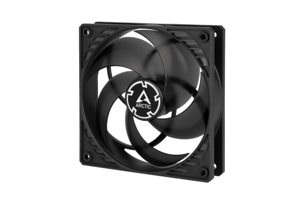 Arctic P12 PWM case fan (120x120x25mm) - black/transparent