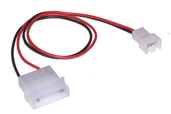 InLine® Fan power adaptor cable 12V -> 7V, 0,3m