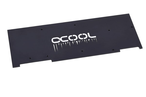 Alphacool Backplate for Eisblock GPX-N RTX 2080/2080Ti M02 Acetal & Plexi Light