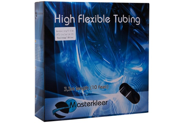 "Masterkleer tubing PVC 16/10mm (3/8""ID) Ultra clear 3,3m (10ft) ""Retail Package"" (BPA free)"