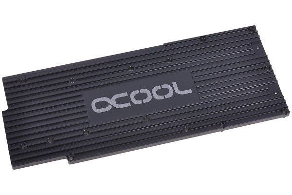 Alphacool Backplate for GPX - Radeon R9 280X M01 - black