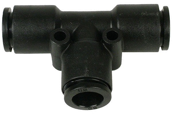 10mm T plug fitting black