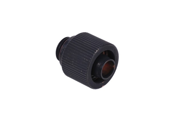 16/10mm compression fitting - compact - matte black